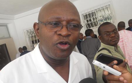 Nicolas Lawson, président du Parti du renouveau et de la rédemption (PRR)