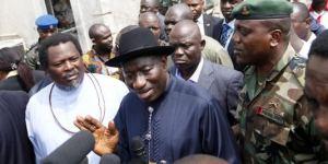 Goodluck Jonathan, dépassé par les événements.