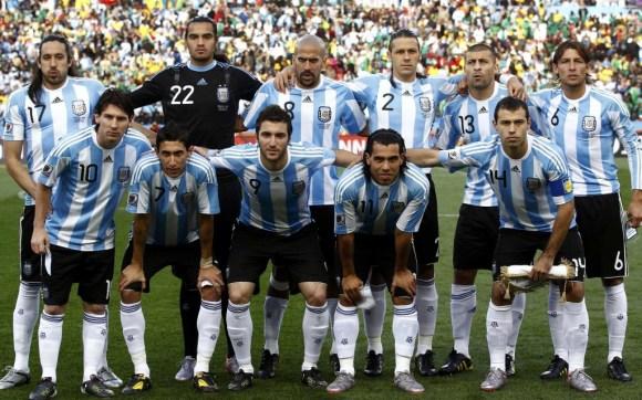 Avec Messi, l'Argentine sera dans le rôle de leader du groupe F