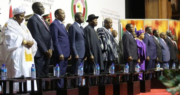 Les leaders de la CEDEAO face aux caprices de la Gambie et du Togo