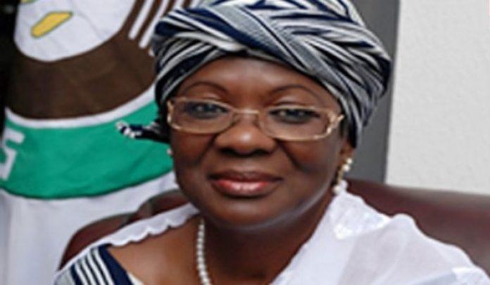 La magistrate Awa Nana, présidente du HCRRUN