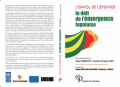 Va paraître: L'Envol de l'épervier, un livre sur l'économie du Togo dirigé par Kako Nubukpo