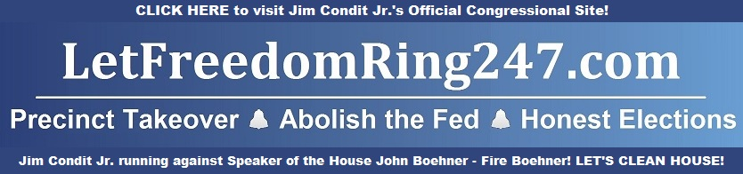 Let Freedom Ring Rectangle Fire Boehner