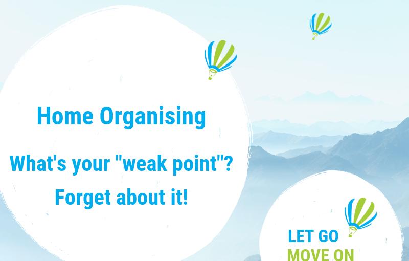 Decluttering Blog Post - Let Go - Move On
