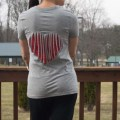 Refashion a T-Shirt with a Heart Cut Out for Valentine's Day