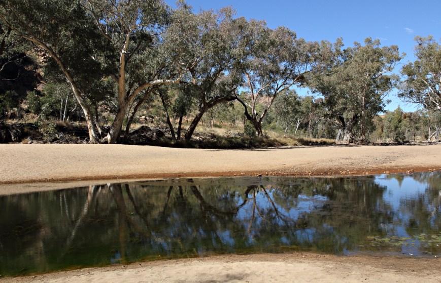 Ormiston-Gorge-Reflections