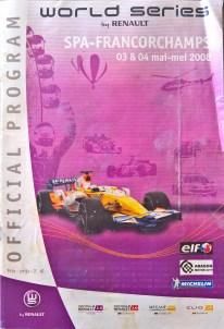 World+Series+Renault+Spa+2008+official+program