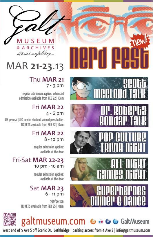 Nerd Fest Flyer