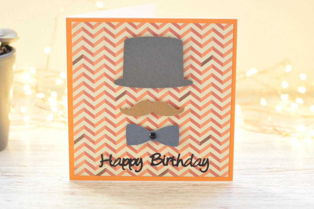 jazzy male birthday card