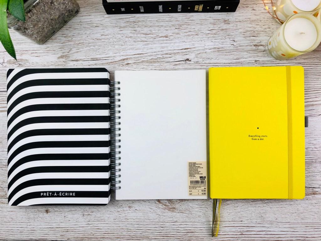bullet journal notebook comparison