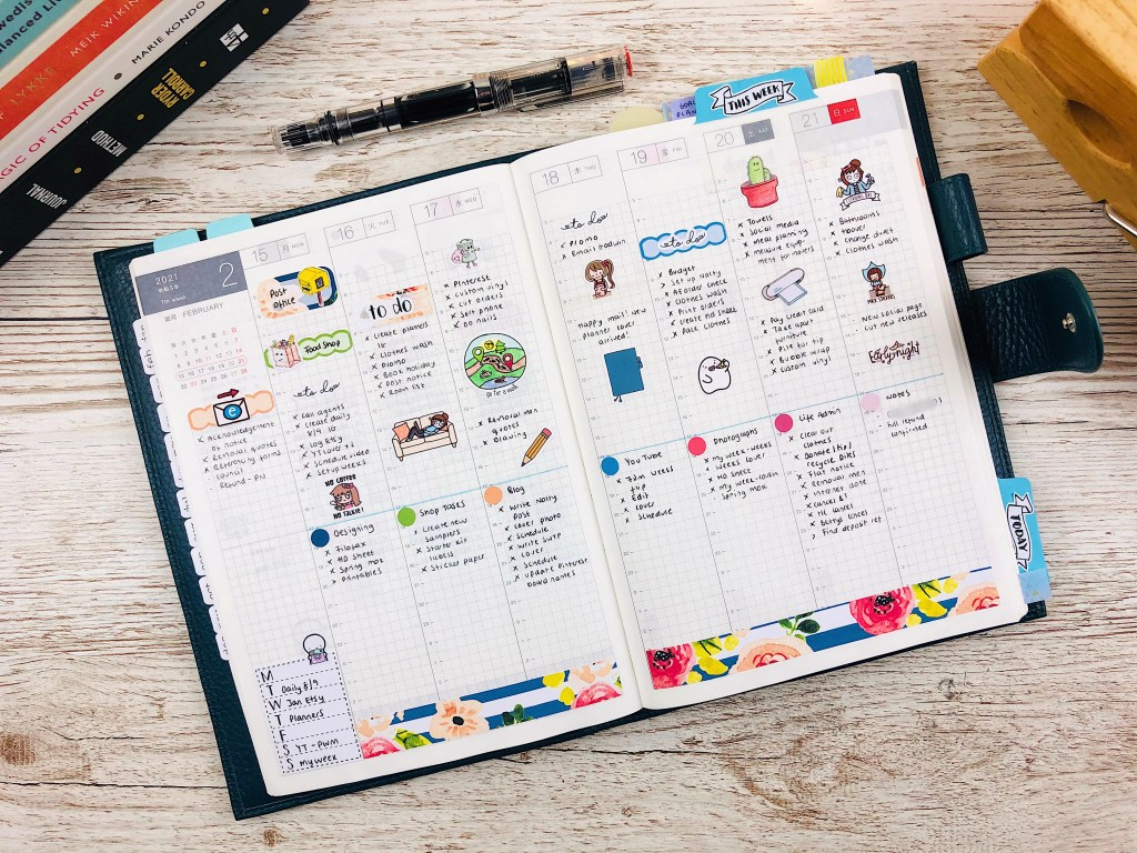 hobonichi cousin layouts
