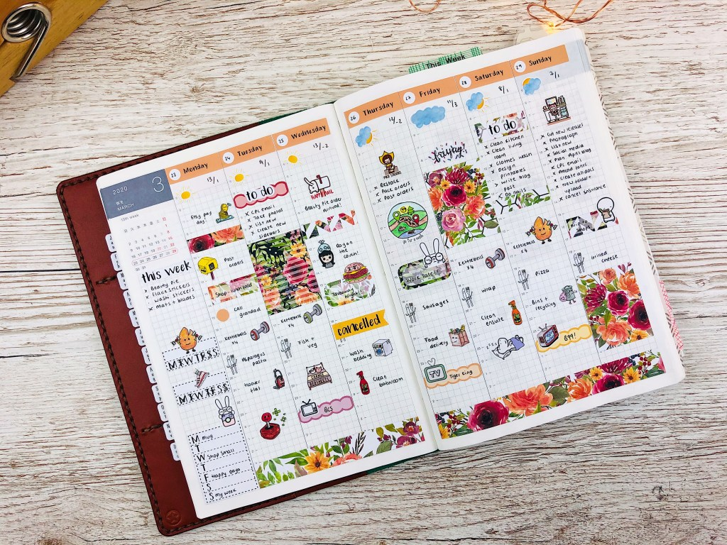 hobonichi cousin deluxe weekly kit