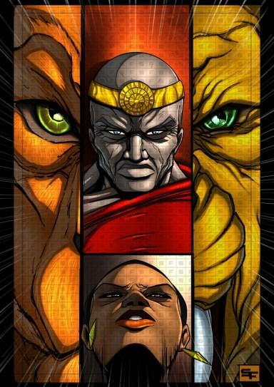 """Adinkra: The Graphic Novel"" by Setor Fiadzibey"