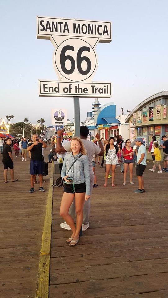 Santa Monica - Konec Route 66