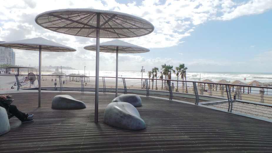 Hlavní pláž Tel Avivu