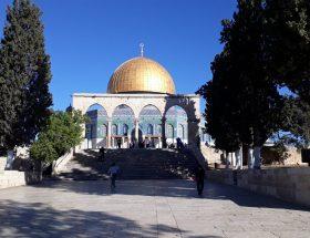Mešita Skalní dóm v Jeruzalémě