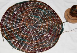 Buffalo Wool Co Sexy - Annie Oakley colourway - This is one gorgeous yarn. It is going to be the Squash Blossom Shawl!