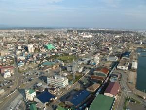秋田市ViewFrom セリオン