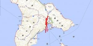 函館平野西縁断層帯