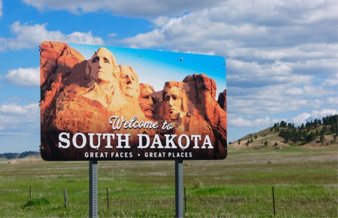 Welcome to South Dakota - Etats-Unis