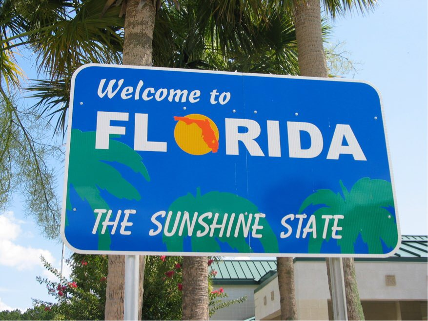 Welcome to Florida - Etats-Unis