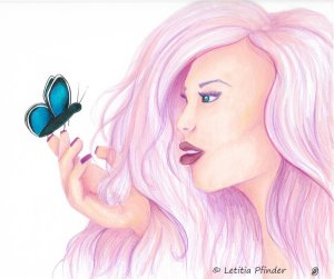 Recovery was drawn by Letitia Pfinder