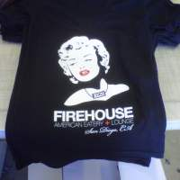 Custom Printed Firehouse V-neck T shirts!