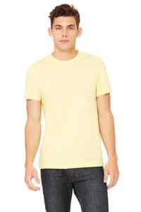 3001 BELLA+CANVAS® Unisex Jersey Tee in Yellow