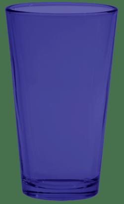 Reflex Blue Pint Glass