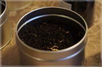 Thé noir caramel au beurre salé Parenthèse Café en pot argenté