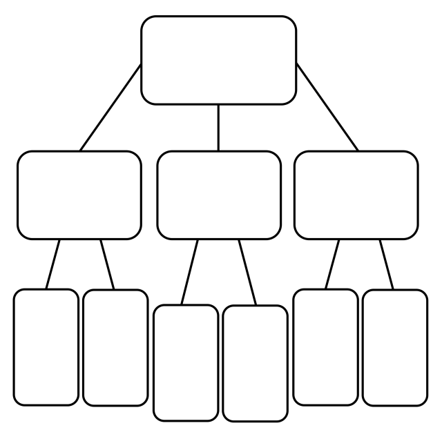 04_Concept_Mapping_Vertical_Flow_Chart_Blank