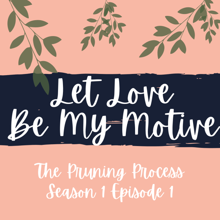 Let Love Be My Motive Podcast, Now Available!