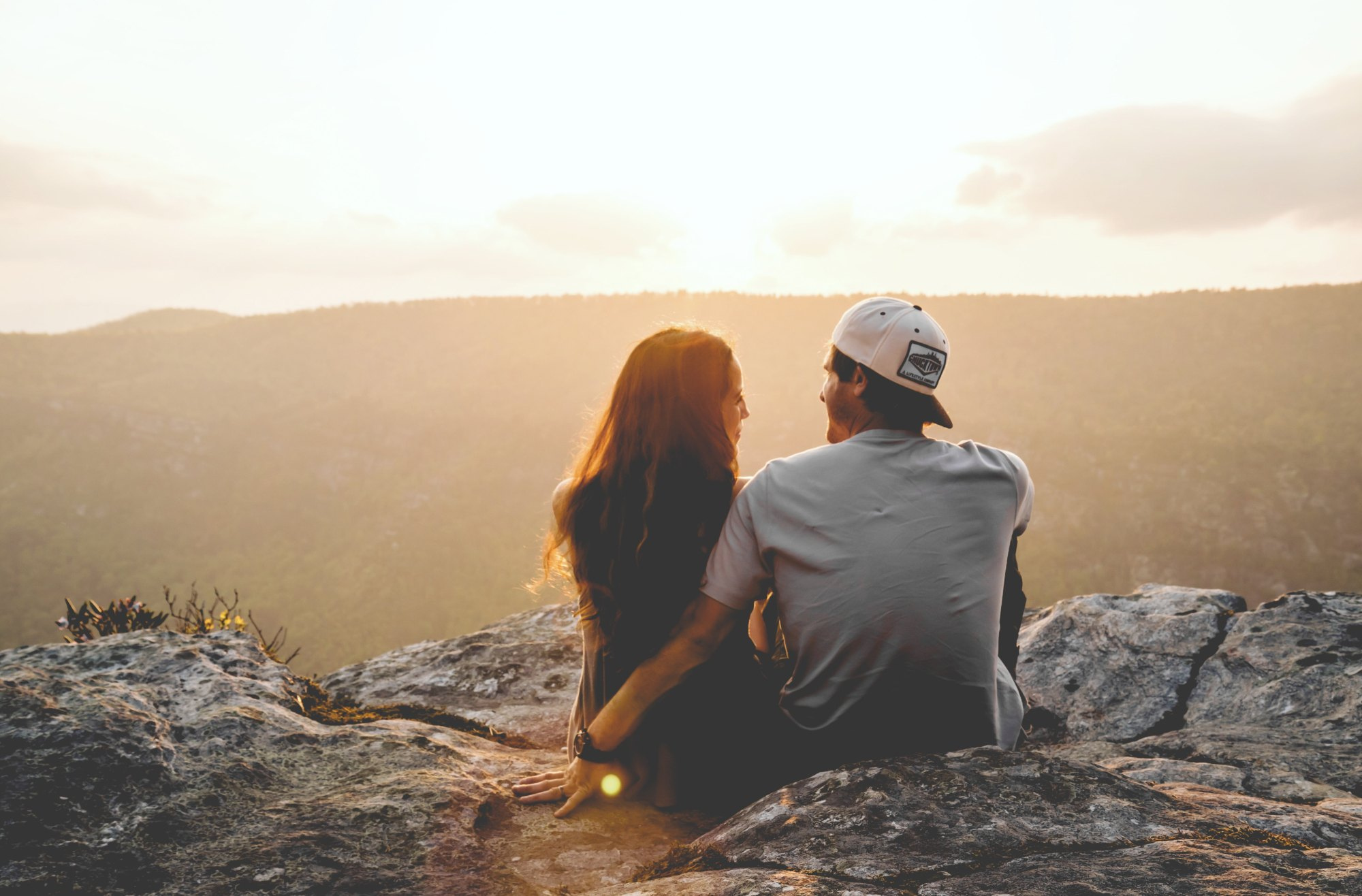 A loving couple create deep connection using our top 5 communication tips for intimate relationship