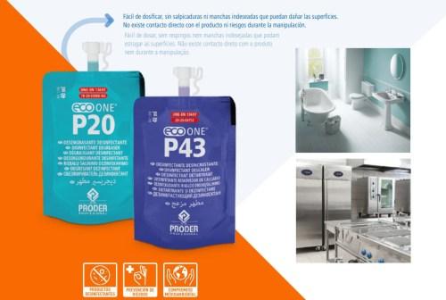 Monodosis Eco One fácil de dosificar