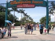 Disneyland Gate