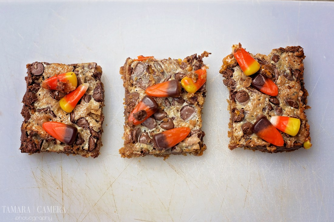 Halloween BUTTERFINGER® Cup Magic Bars.