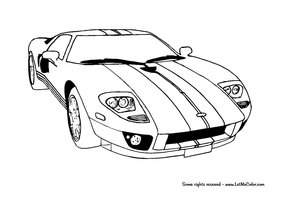 Porsche Coloring Pages Printable
