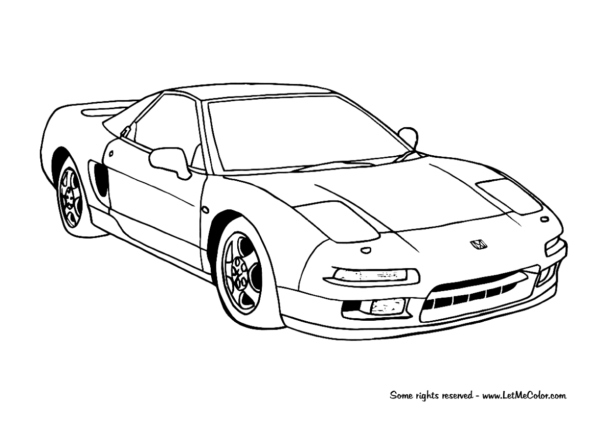 Coloring Supercars Page 3 Letmecolor
