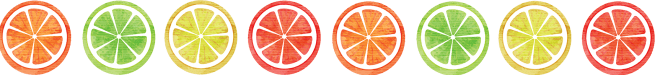 Lemon Banner, lemon, lime, orange