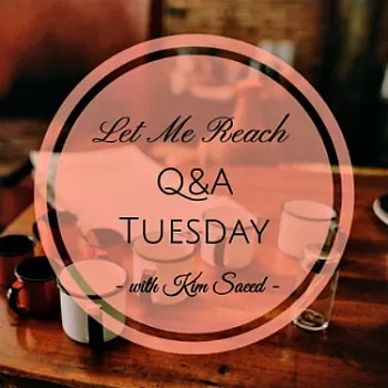 Q&A Tuesday