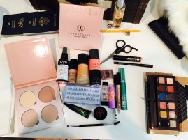 Items I used for my makeup