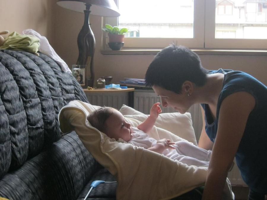 Kako mirišu bebe