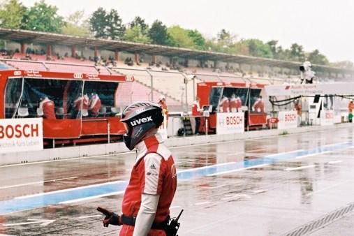 Audi Pit Lane Nurburgring Check