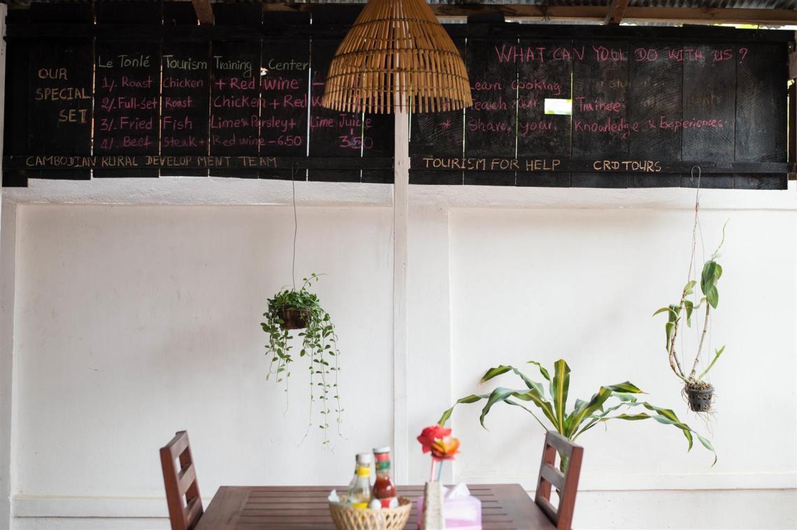 About Le Tonle Tourism Training Center