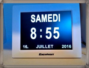 Le top des testeuses Horloge Calendrier High-Tech