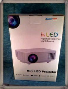 Le top des testeuses Mini-Vidéoprojecteur Excelvan High-Tech Vidéoprojecteur