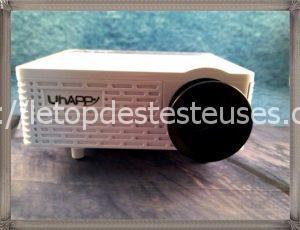 Le top des testeuses Mini-Vidéoprojecteur Uhappy Vidéoprojecteur