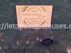 Assiette Cristal Sphère