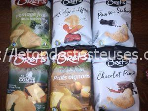 Le top des testeuses BRET'S, les chips 100% françaises, 100% Bretonnes Epicerie