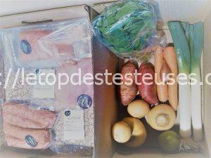 Le top des testeuses Illico Fresco, les repas à domicile, suivez la recette !!! Epicerie